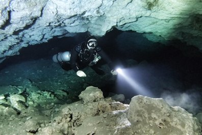 cave diving philippines