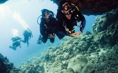 cave diver Moalboal